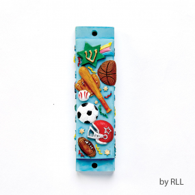 Sports Resin Mezuzah