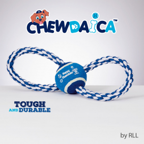 Chewdaica Rope Toy (for DOGS!)
