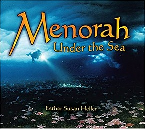 Menorah under the sea