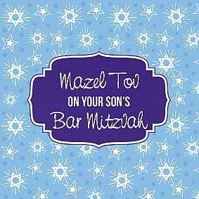 On your Son's Bar Mitzvah
