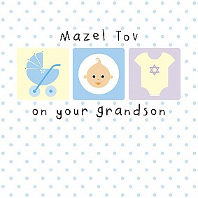 Mazel Tov on Your Grandson