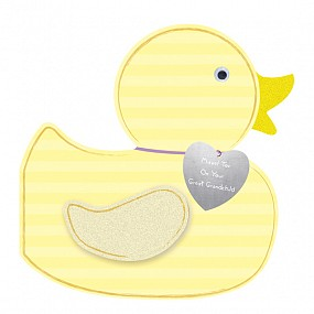3D Mazel Tov on your GREAT Grandchild (duck)