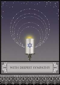 With Deepest Sympathy - Candle 2