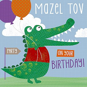 Mazel Tov on your birthday! (croc)