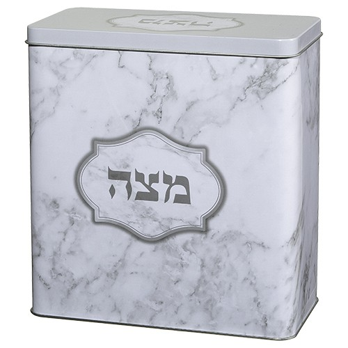 Tin Matzah Box.