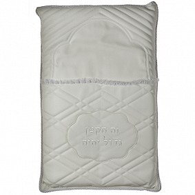 Leather-like Brit Pillow white