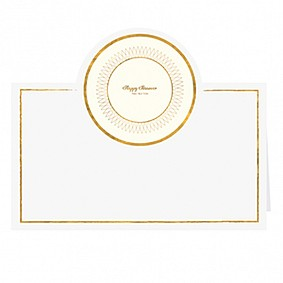 Passover Place Cards - Gold