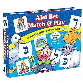 Alef Bet Match and Play Game