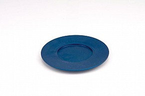 Agayof Kiddush Cup Plate - blue