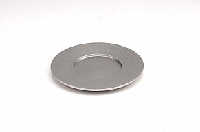 Agayof Kiddush Cup Plate - silver