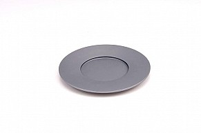 Agayof Kiddush Cup Plate - grey