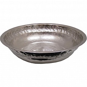 Hand Crafted Chrome Washing Bowl