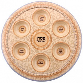Bamboo Passover Plate